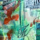 Vanille und Schoko | 120x120 cm, 2016 | pappe