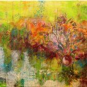 Ying & Yang (2013) 40x80 Acryl