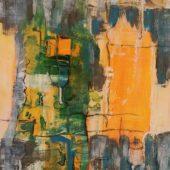 Saftbar  (2014) 30x60  Acryl