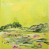 Seerosen (2006) 20x30 Acryl
