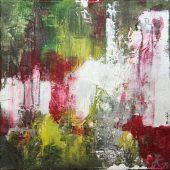Gartenszene (2014) 30x30 Acryl