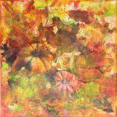 Herbstflair (2012) 30x30 Acryl