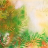 Im Wald,da tut sich was (2018)  60 x 80  Acryl
